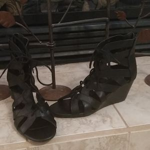 Charlotte Russe ankle sandals NWOT